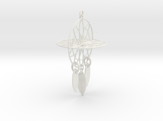 Dream Catcher Intento mil in White Strong & Flexible