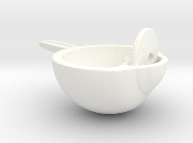 Eyes on in White Processed Versatile Plastic