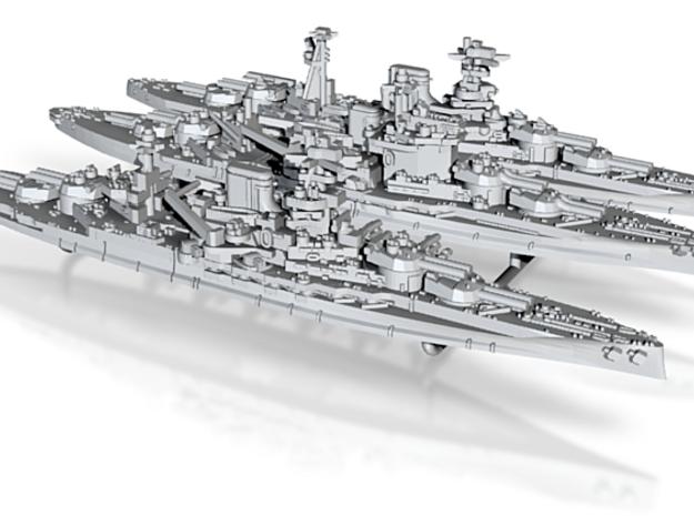 1/2400 UK Queen Elizabeth class BBs (SetA) 3d printed