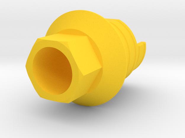 X8 - IND3ZIMH35 X8-1 in Yellow Processed Versatile Plastic