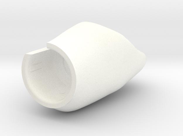 X8 - Diente NP-1 in White Processed Versatile Plastic
