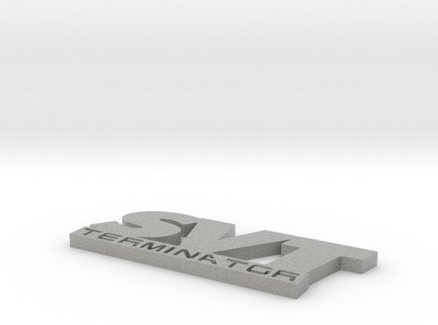 SVT Terminator Emblem 3d printed