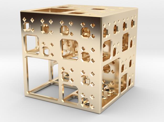 NewMenger - small fractal sculpture 3d printed