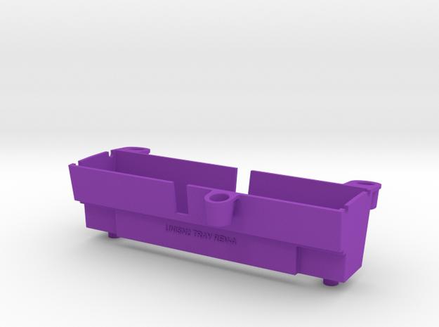 UniSN2 Tray For SNES 2 in Purple Processed Versatile Plastic
