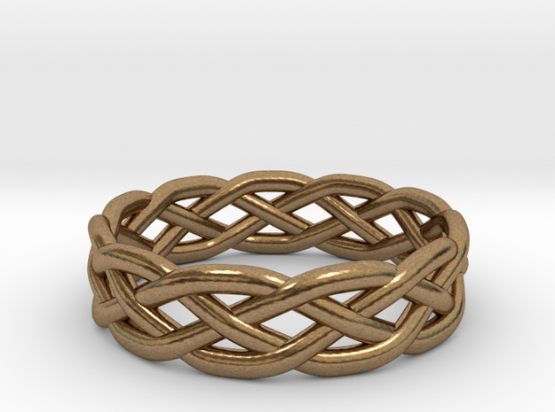 Celtic Knot Ring 3d printed