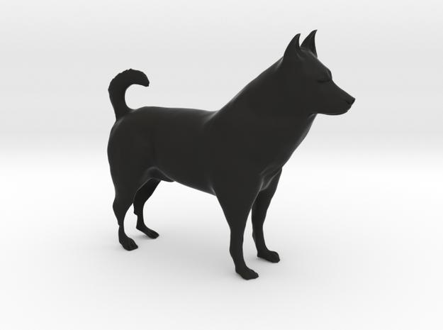 "Shepherd Dog - 10cm / 4"" in Black Strong & Flexible"