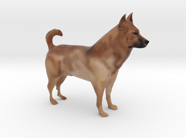 "Shepherd Dog - 10cm / 4"" - Full Color in Full Color Sandstone"