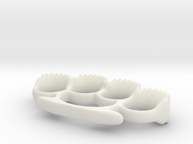 The Bite in White Natural Versatile Plastic