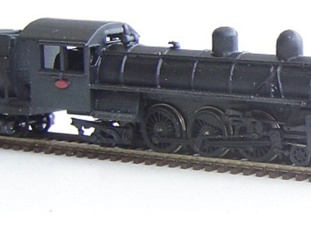 NZR AB Class NZ120 in Smooth Fine Detail Plastic