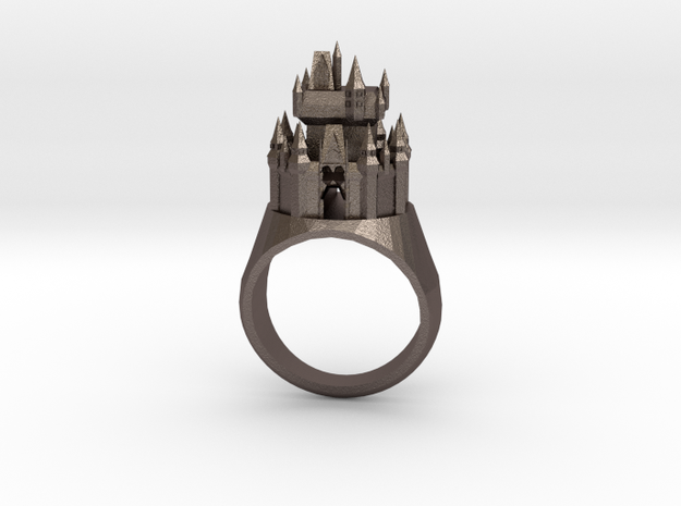 DW Cinderellas Castle Inspired Ring Size 7/P