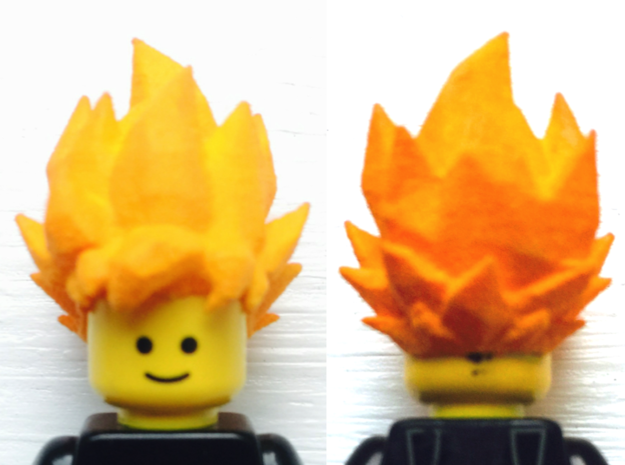 Custom Goku SSj1 Inspired Lego