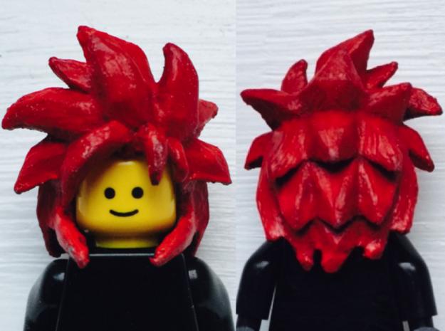 Custom Gogeta SSj4 Inspired Lego