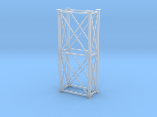 'HO Scale' - 4' x 8' x 20' Tower in Smooth Fine Detail Plastic