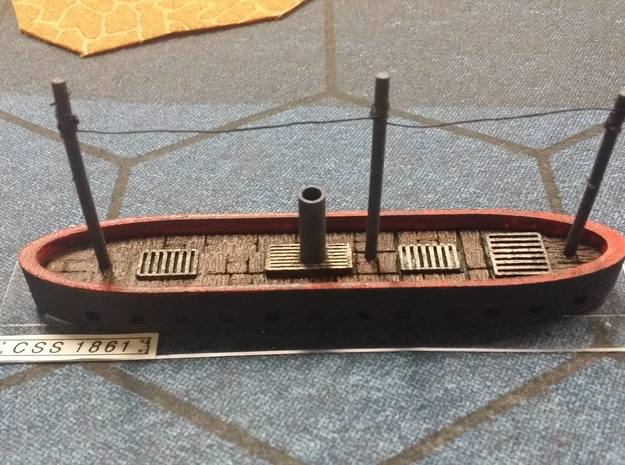 "1/600 CSS 1861 (""North's Ironclad""); HMS Danmark in Black Strong & Flexible"