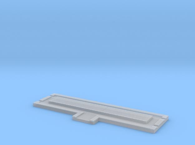 Weeghok Brug Klein H0 in Smooth Fine Detail Plastic
