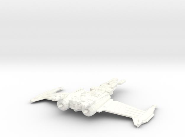 Kyuh'Gak in White Processed Versatile Plastic