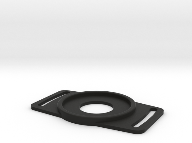 DSLR Lens Cap Holder -62mm in Black Natural Versatile Plastic