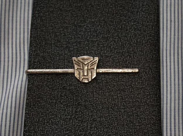 Transformers: Autobots Tie Clip in Stainless Steel