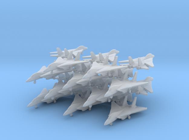 Grumman F-14 Tomcat (20x)(1:400) in Smooth Fine Detail Plastic