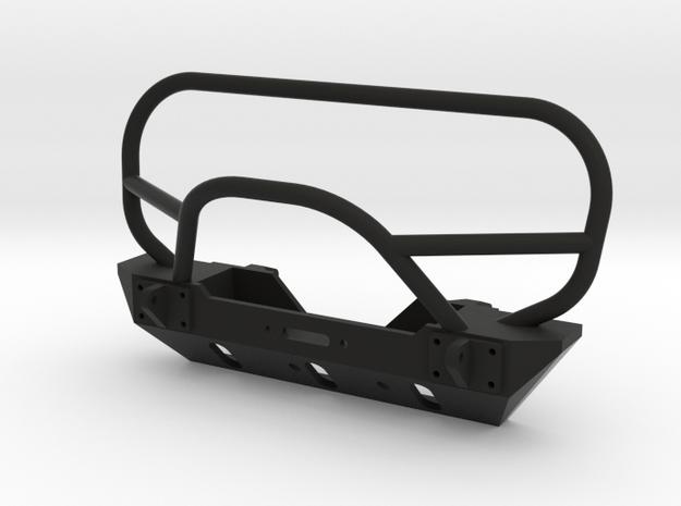 JK Winch Bumper - SCX10 Tabs in Black Strong & Flexible