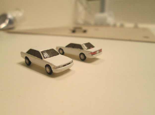 n scale car 1987-1991 toyota camry in Smooth Fine Detail Plastic