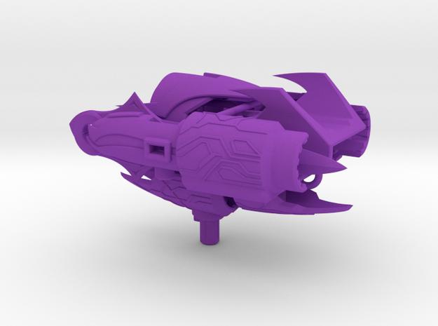 TFP Powerizer Megatron's fusion cannon (dark energ 3d printed