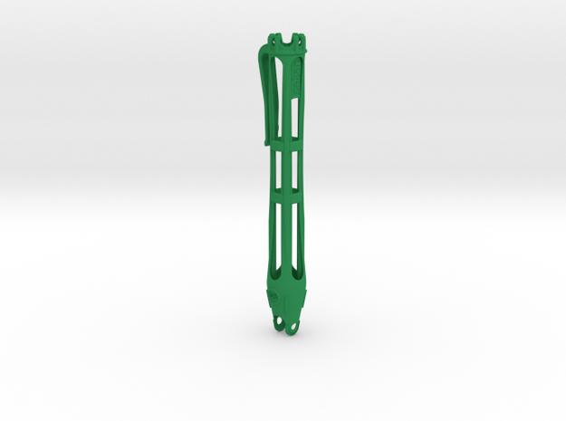 """Seljan - PenPouch for 3/8"""" steel balls v.3 in Green Processed Versatile Plastic"""