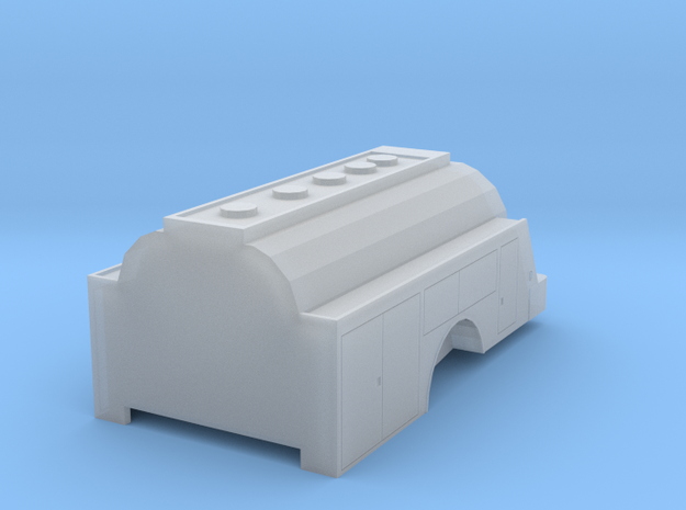 Tank Truck Tank 4 in Smooth Fine Detail Plastic