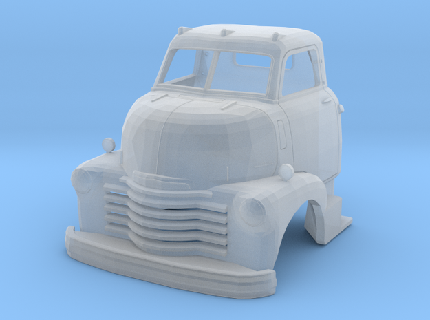 1949 Chevy Cab Over 3 in Smooth Fine Detail Plastic