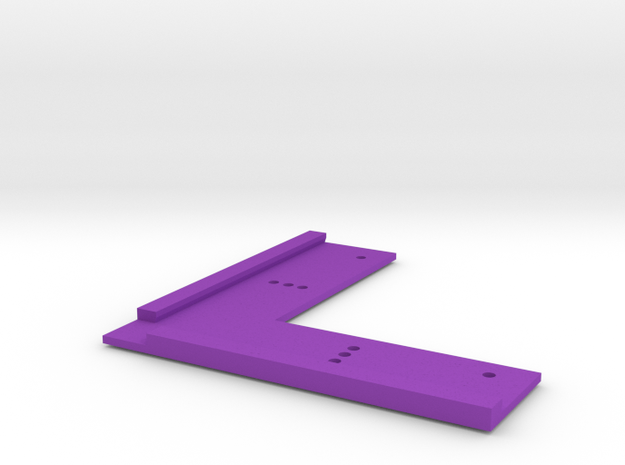 T-Trak Junction Track Locator in Purple Processed Versatile Plastic