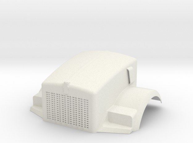 Fenders-Kenworth T800 in White Natural Versatile Plastic