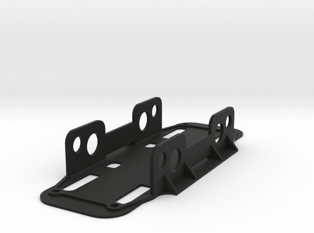 UNDERSLUNG BATTERY TRAY (1 inch Velcro Strap Versi in Black Strong & Flexible
