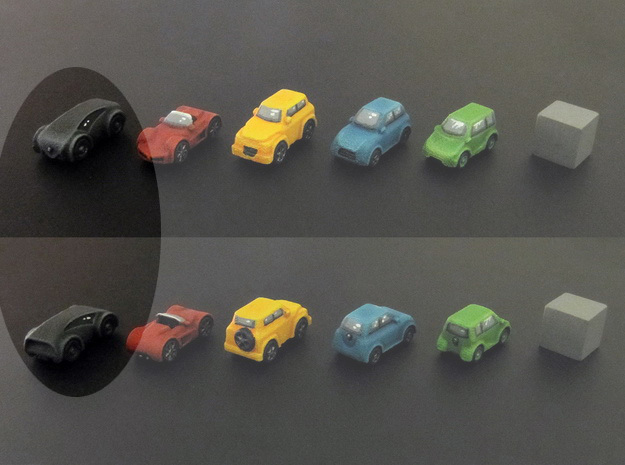 Miniature cars, Concept car model (8pcs)