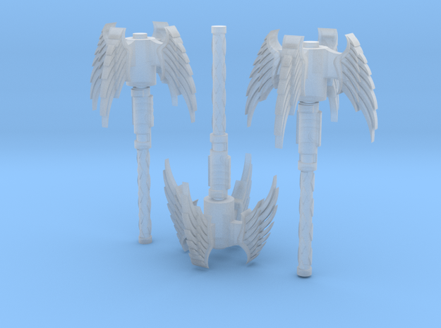 Angel Mace 3 Pack in Smooth Fine Detail Plastic
