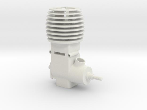 Mini 2 Stroke Motor in White Strong & Flexible