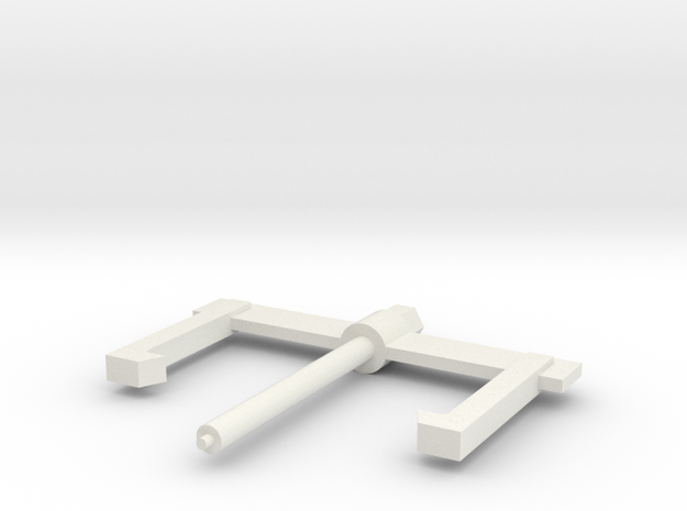 Gear puller dan in White Strong & Flexible