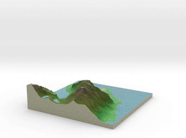 Terrafab generated model Sun Apr 12 2015 08:47:49  in Full Color Sandstone