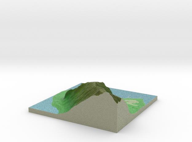Terrafab generated model Tue Apr 14 2015 15:21:30  in Full Color Sandstone