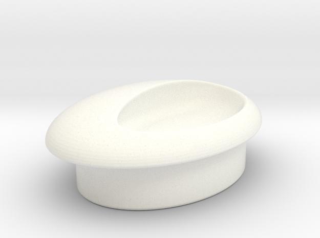 love handles I Egg handle H I soon: porcelain! 3d printed