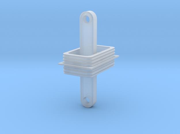 IORE Uebergang mit Deichsel_v1 TT 1:120 in Smooth Fine Detail Plastic