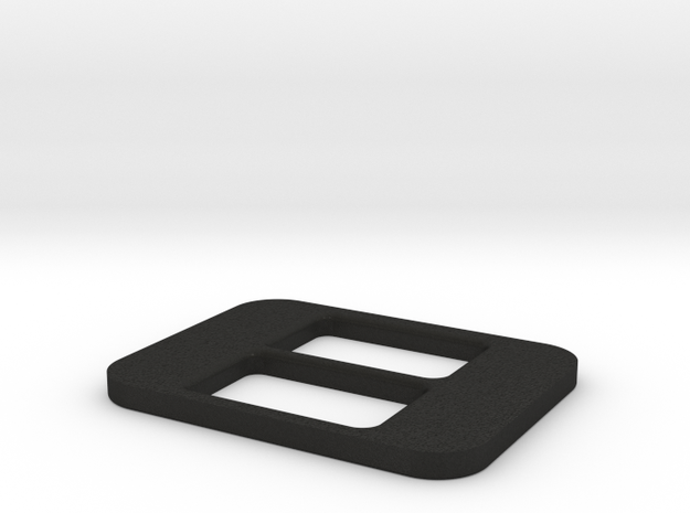 BRZ Limited Console Plate Blank in Black Acrylic
