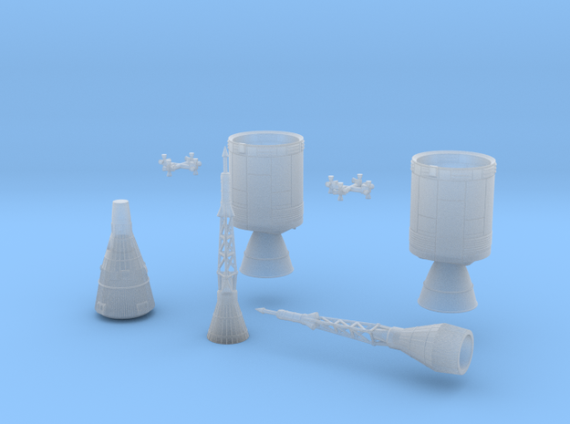 Man In Space Full Set 3d printed