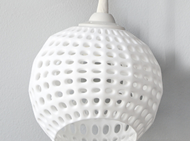 Inverted Golf Ball Pendant Light 3d printed Get Bli