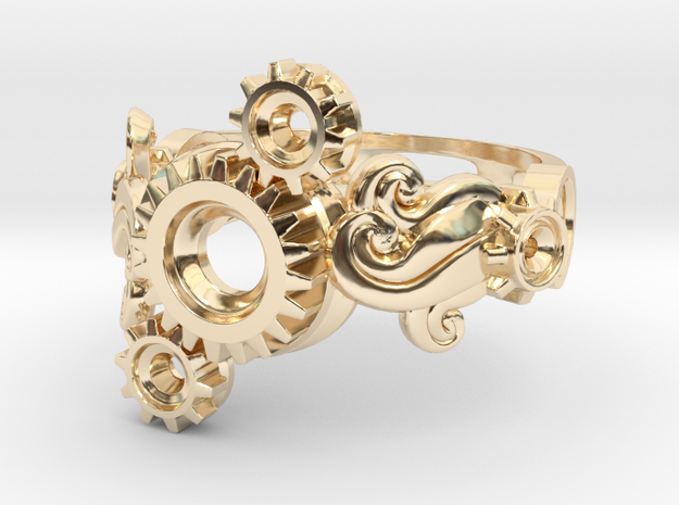 Tri-Gear Mech Ring size 10