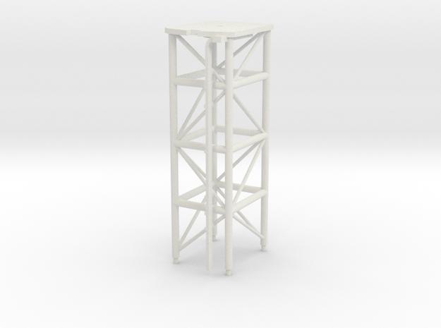 1/72 scale Perry Mast #2 in White Natural Versatile Plastic