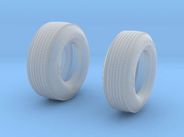 Tires for AMT Watson Roadster and Lotus 29 3d printed