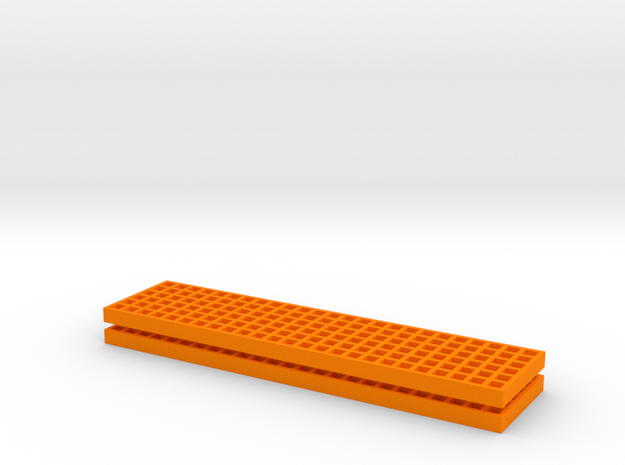 Waffle Boards in Orange Processed Versatile Plastic