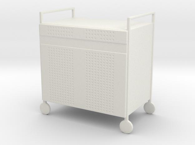 HTLA Laptop Cart 5% in White Strong & Flexible