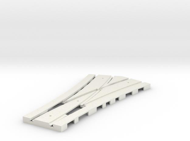 P-165st-tram-point-half-y-live-pl-1a in White Natural Versatile Plastic