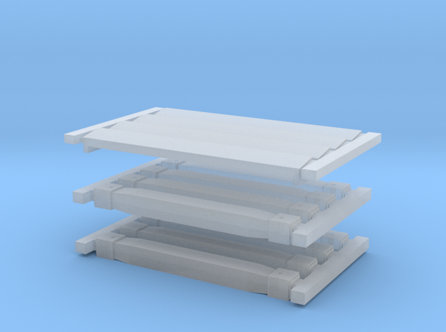 Rectank WW 1 & 2 Small Bolsters to 2 designs in Smooth Fine Detail Plastic